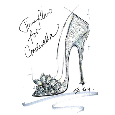 Jimmy Choo Cinderella Shoes