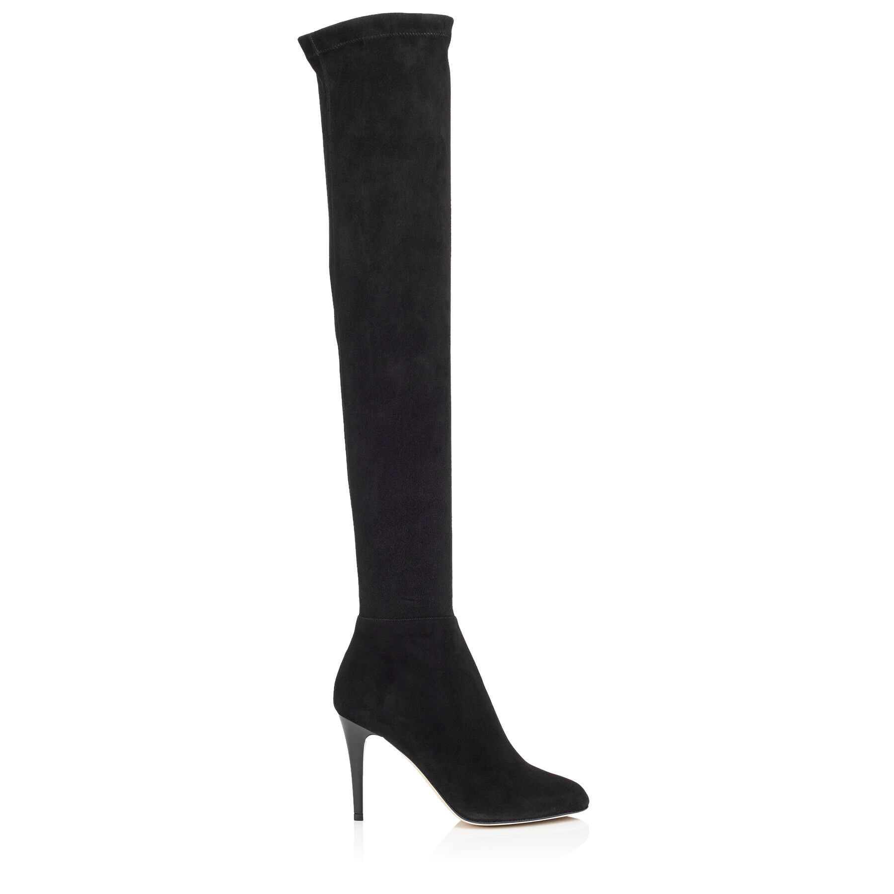 Stretch Suede Over-the-Knee Boots| TONI