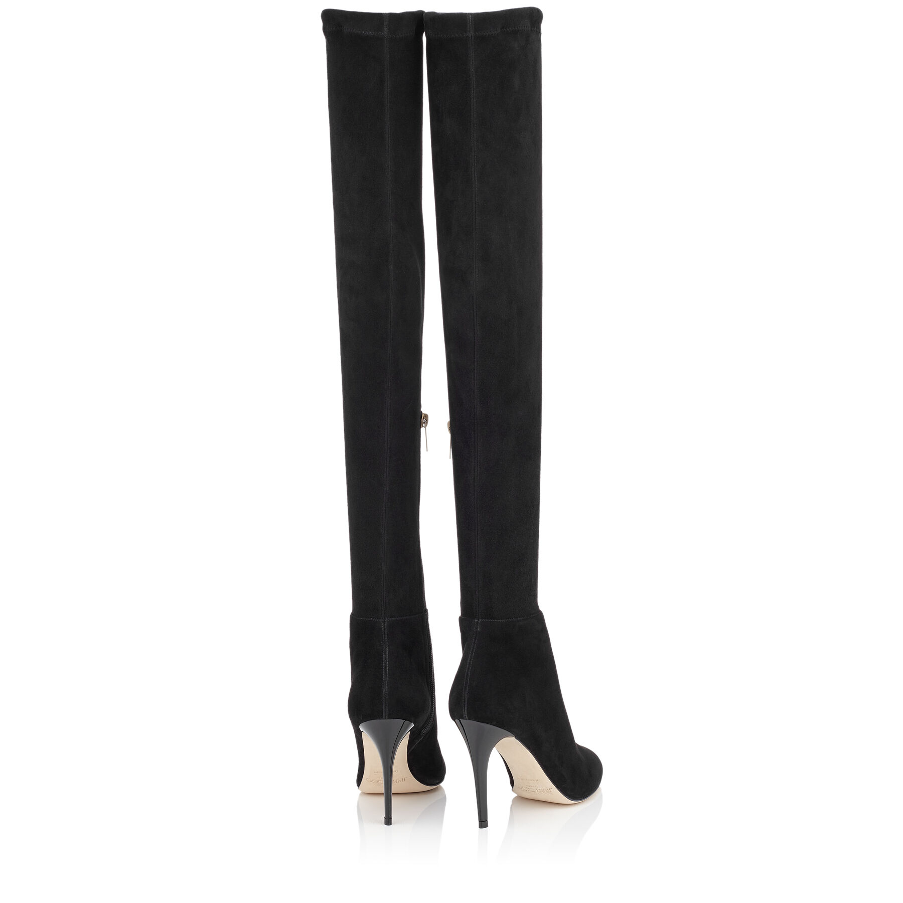 Stretch Suede Over-the-Knee Boots  TONI